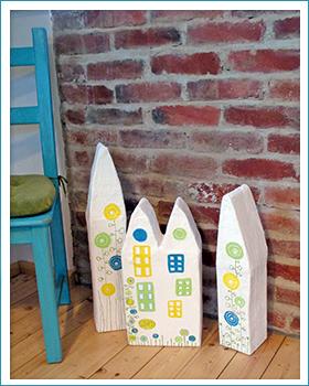 kleinstadt flair home decoration bastelideen die sachenmacher. Black Bedroom Furniture Sets. Home Design Ideas