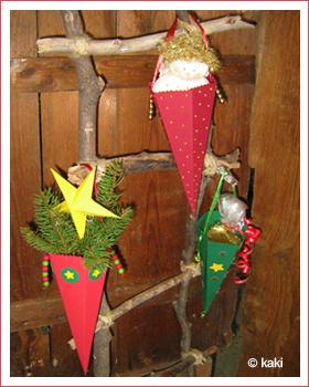Nikolaus t ten weihnachtsbasteln bastelideen die - Bastelideen nikolaus ...