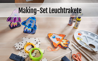 Making-Set Leuchtrakete