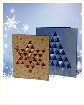 Individuelle Weihnachtskarten.Weihnachtskarten Weihnachtsbasteln Bastelideen Die Sachenmacher