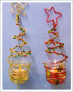 Weihnachtsbasteln bastelideen die sachenmacher for Kerzenhalter fa r weihnachtsbaum